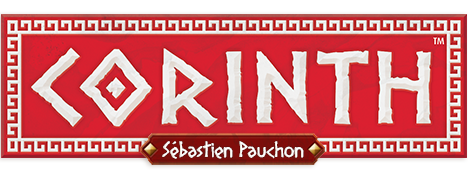 Corinth – a board game by Sébastien Pauchon, published by Days of Wonder