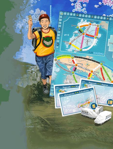 Aventuriers du Rail Japon