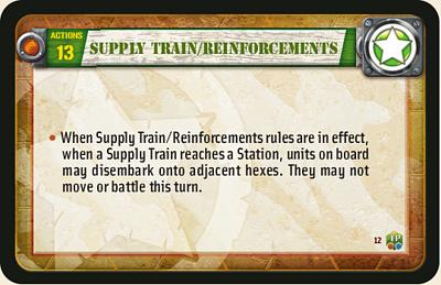 Supply Train/Reinforcements