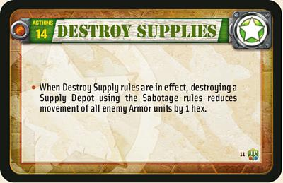 Destroy Supplies