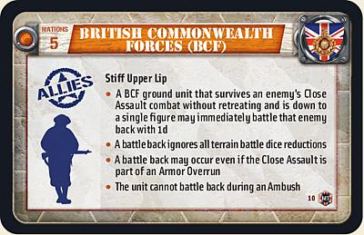 British Commonwealth Forces (BCF)