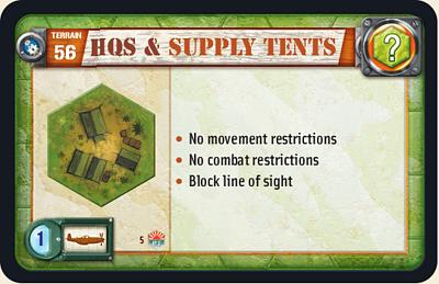 HQs & Supply Tents