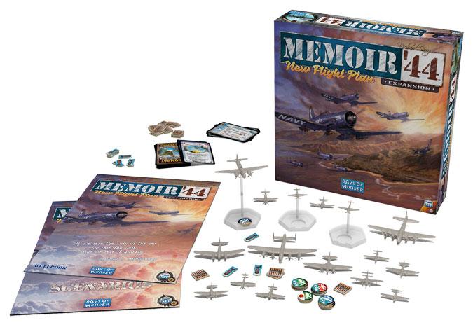 Memoir 44 New Flight Plan -  Days of Wonder