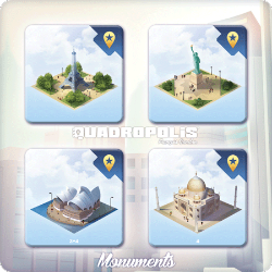 Monuments of Quadropolis
