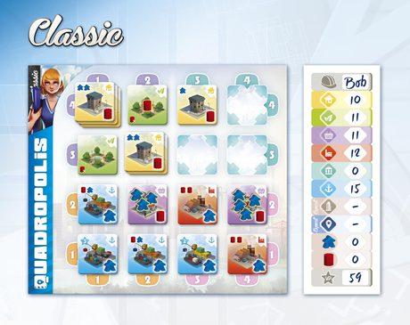 Exemple de score en mode Classic