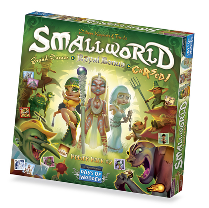 Small World Power pack 2: Cursed, Grand Dames and Royal -  Days of Wonder
