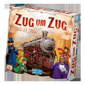 Spielschachtel von Zug um Zug