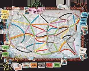Zug Um Zug Ein Brettspiel Von Alan R Moon Veröffentlicht