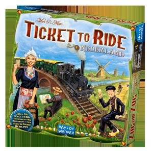 Spielschachtel von Zug um Zug Die Niederlande