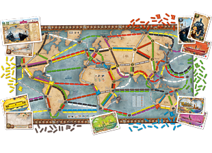 Ticket to Ride Rails & Sails – a board game by Alan R. Moon ...