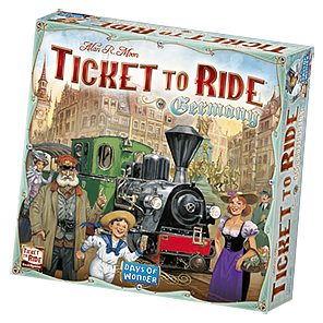 Ticket to Ride Germany Game Box