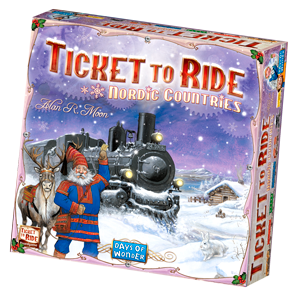 Ticket to Ride Nordic Countries Game Box