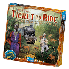 Ticket to Ride: Heart of Africa Game Box