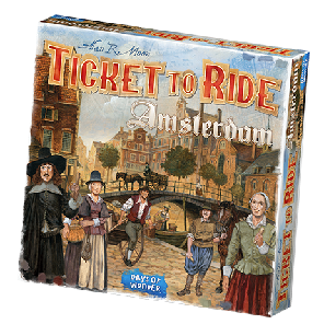 Ticket to Ride Amsterdam Game Box