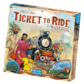 Ticket to Ride India Game Box