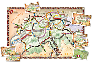 Ticket To Ride India Map.Ticket To Ride India A Board Game Expansion By Alan R Moon And