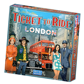 Ticket to Ride London Game Box