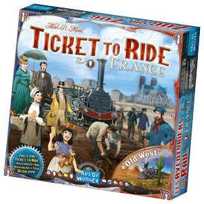 Ticket to Ride France Game Box