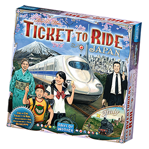 Ticket to Ride Japan Game Box