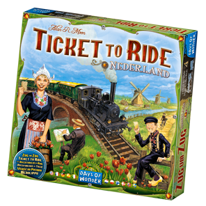 Ticket to Ride Nederland Game Box