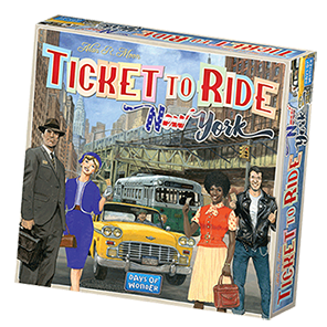 Ticket to Ride New York Game Box