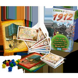 La boîte de Europa 1912