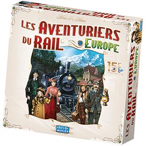 La boîte des Aventuriers du Rail Europe 15e Anniversaire