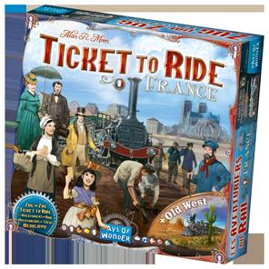 La boîte des Aventuriers du Rail France