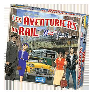 Les Aventuriers du Rail: New York